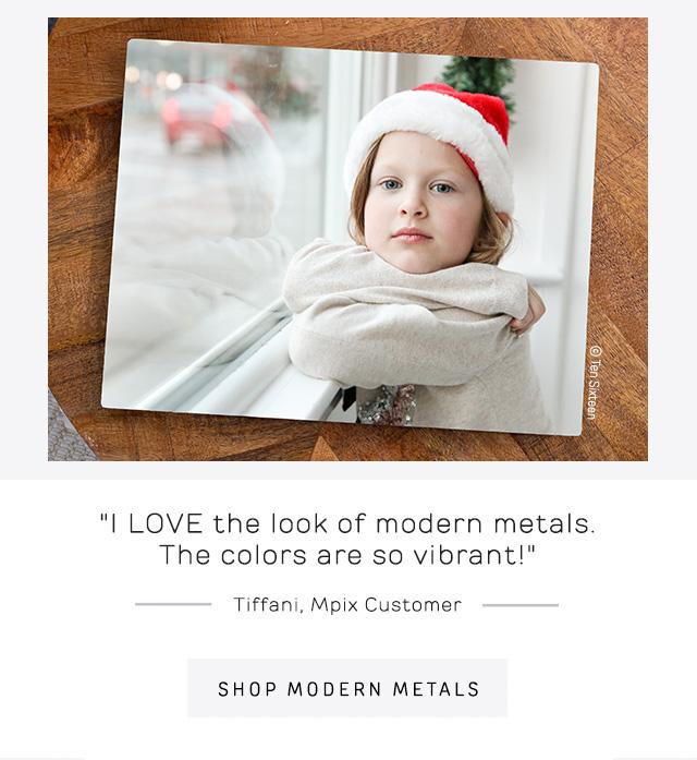 Modern Metals Graphic