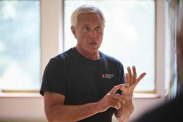 Tom Myers teaching