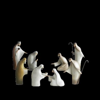 Love's Pure Light Nativity Set
