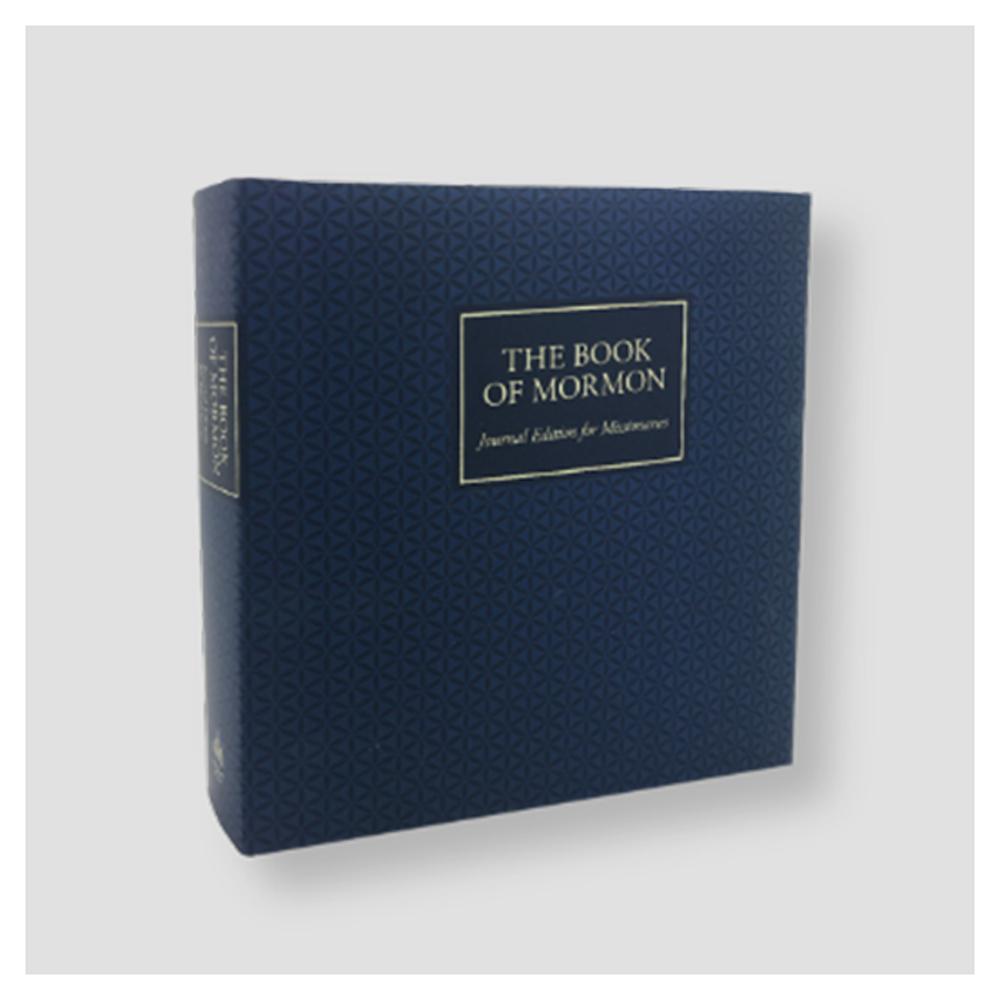 The Book of Mormon, A Journal for Missionaries - Blue