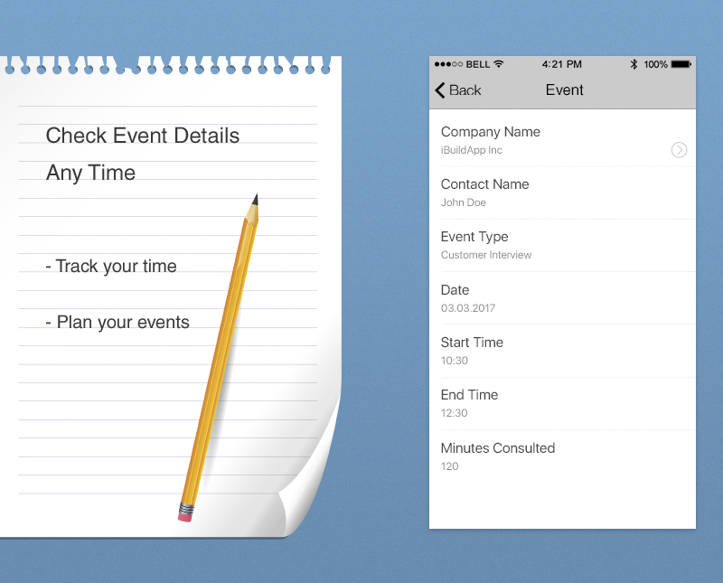 New Consulting App Logs Expenses and Clients