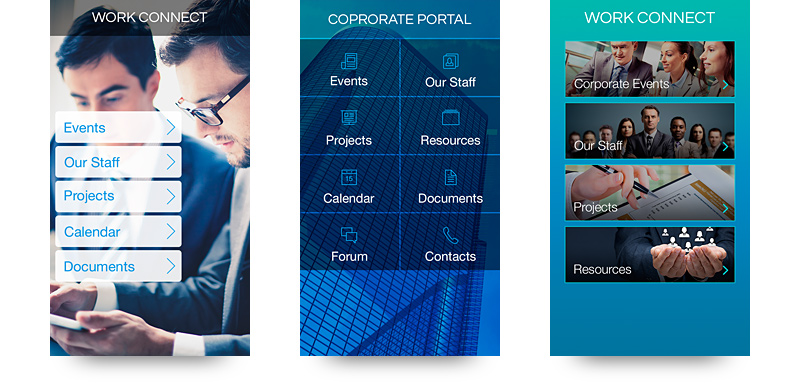 New Designs for Enterprise Apps