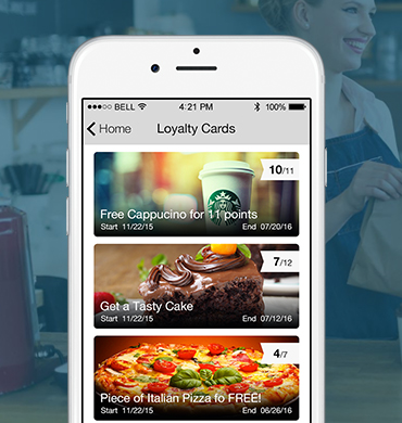 Create Your own Loyalty Cards App