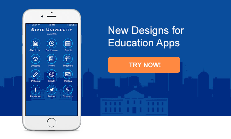 New Designs for Educations Apps