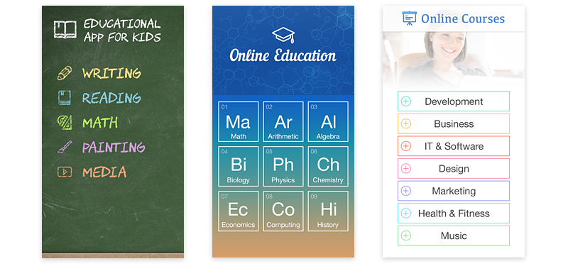 Online Cources and Education Apps