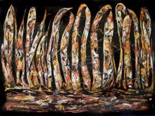 Caren Keyser - black abstract 3, 2019
