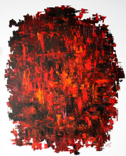 Vladimir Volosov - red and black, 2017