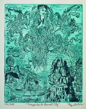 Jerry  Di Falco - magdalen in emerald city, 2019