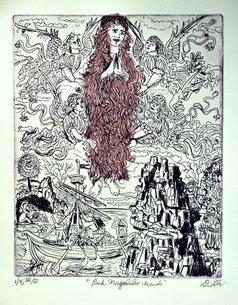 Jerry  Di Falco - pink magdalene ascends, 2019