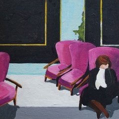 Denise Dalzell - pink chairs, 2019