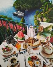 Krisztina T.Molnár - carefree morning in portofino, 2020