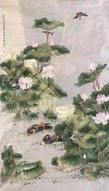 Candice Rongyu - scene painting, 2017