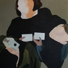 Denise Dalzell - the three of us, 2020