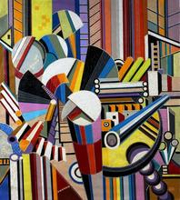 Yosef Reznikov - composition 2, 2019
