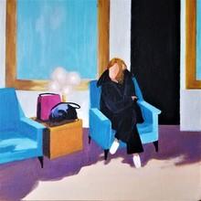 Denise Dalzell - lounge, 2020