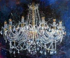 Igor Shulman - chandelier 6 cristmas, 2019