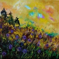 Pol Ledent - cornflowers 779121, 2019