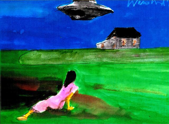 Harry Weisburd - christinas ufo world, 2019
