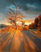Vladimir Volosov - fantastic landscape, 2019