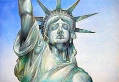 Austen Pinkerton - statue of liberty, 2020