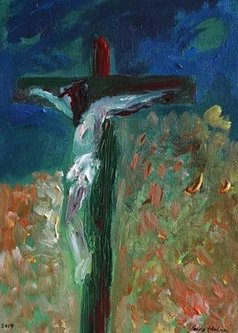 Paulo Medina - in the night of faith, 2020