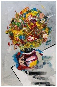 Mac Worthington - fresh cut flowers, 2020
