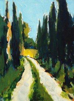 Daniel Clarke - tuscany cypress, 2019