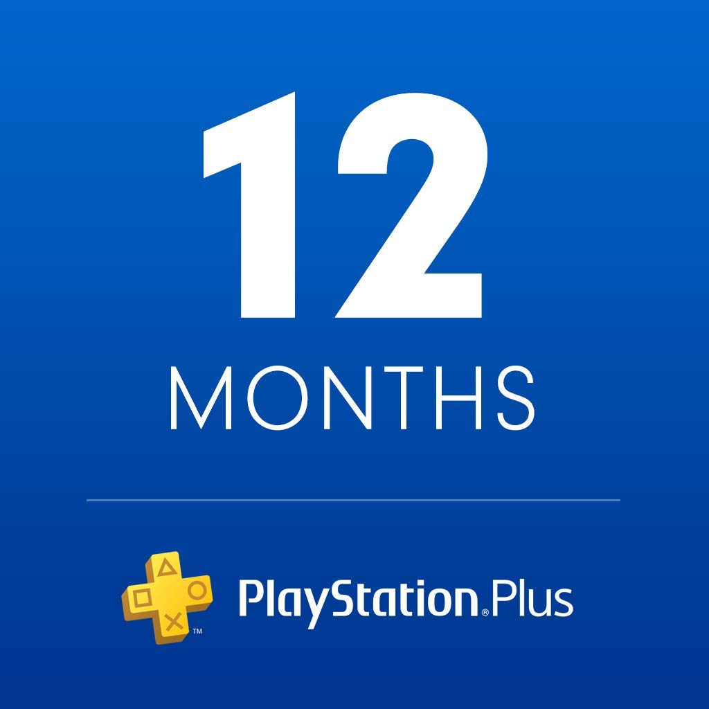 1-Year Sony PlayStation Plus Membership (Digital Code)