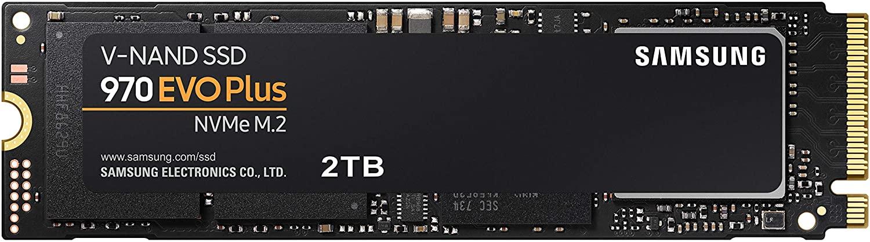 Samsung 2TB 970 EVO Plus NVMe M.2 Internal SSD [MZ-V7S2T0B]