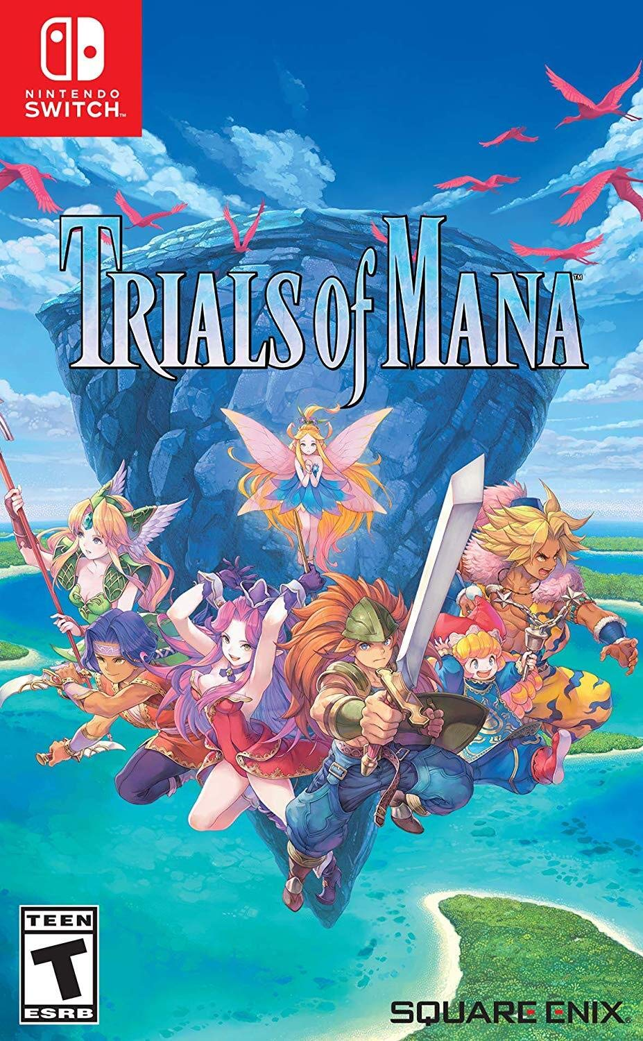 Trials of Mana, Square Enix [Nintendo Switch]