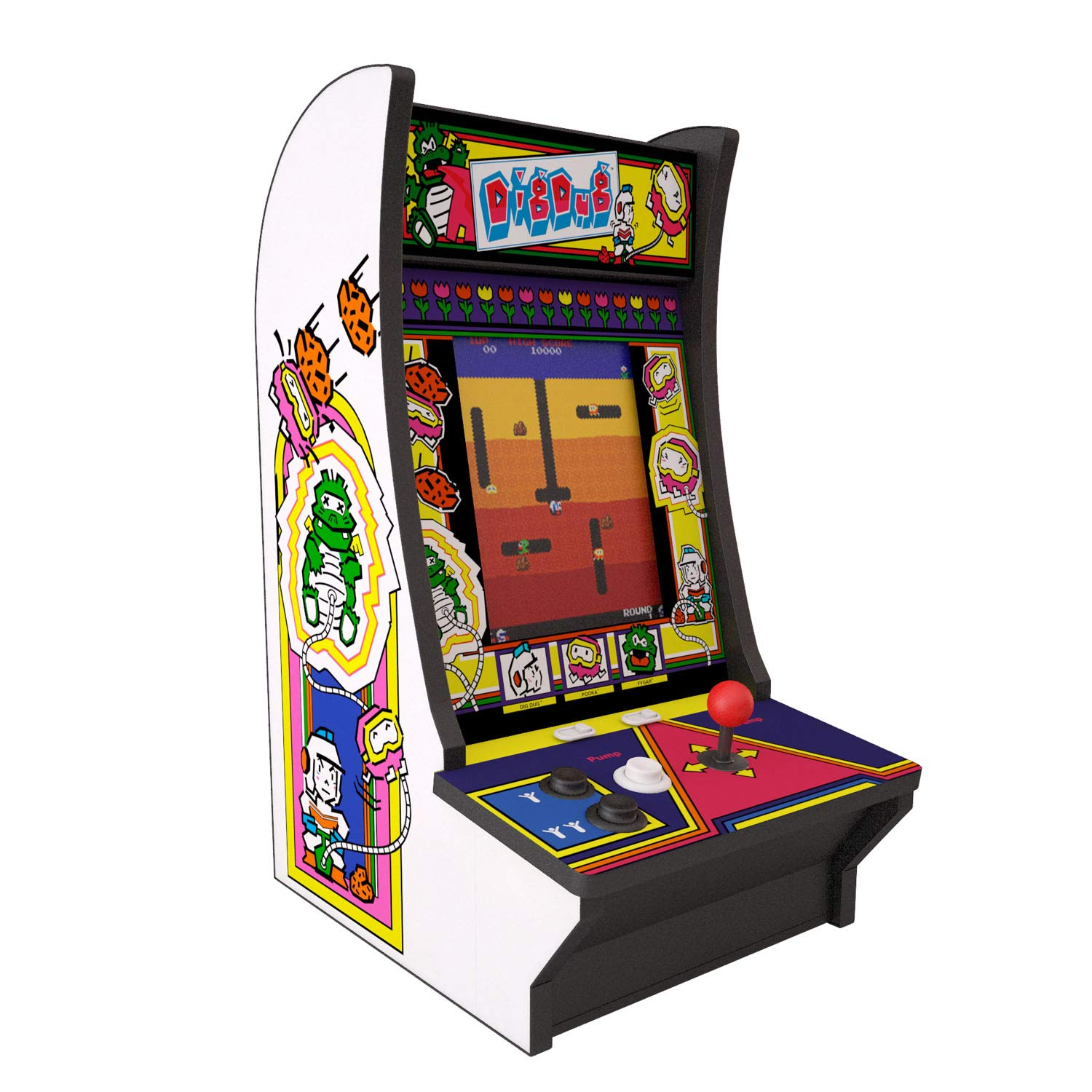 Arcade1Up - Dig Dug Countercade (Model 815221026889)