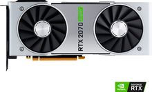 Nvidia RTX 2070 Super Graphics Card, (8GB GDDR6, Model GeForce RTX 2070 Super Graphics Card 900-1G180-2510-000)