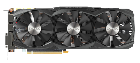 ZOTAC GTX 1070 Refurbished Graphics Card, (8GB GDDR5, Model GTX 1070  ZT-P10700I-10P)