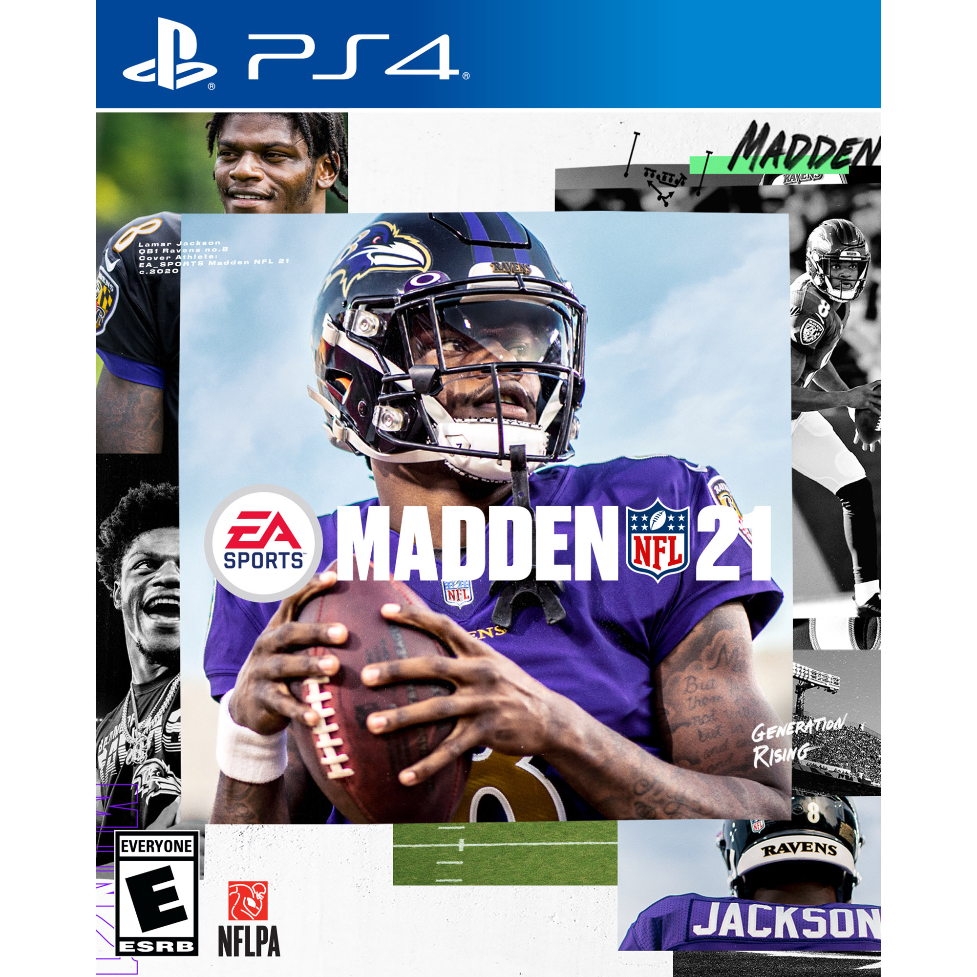 Madden NFL 21, Electronic Arts, Playstation 4, Model 014633739817