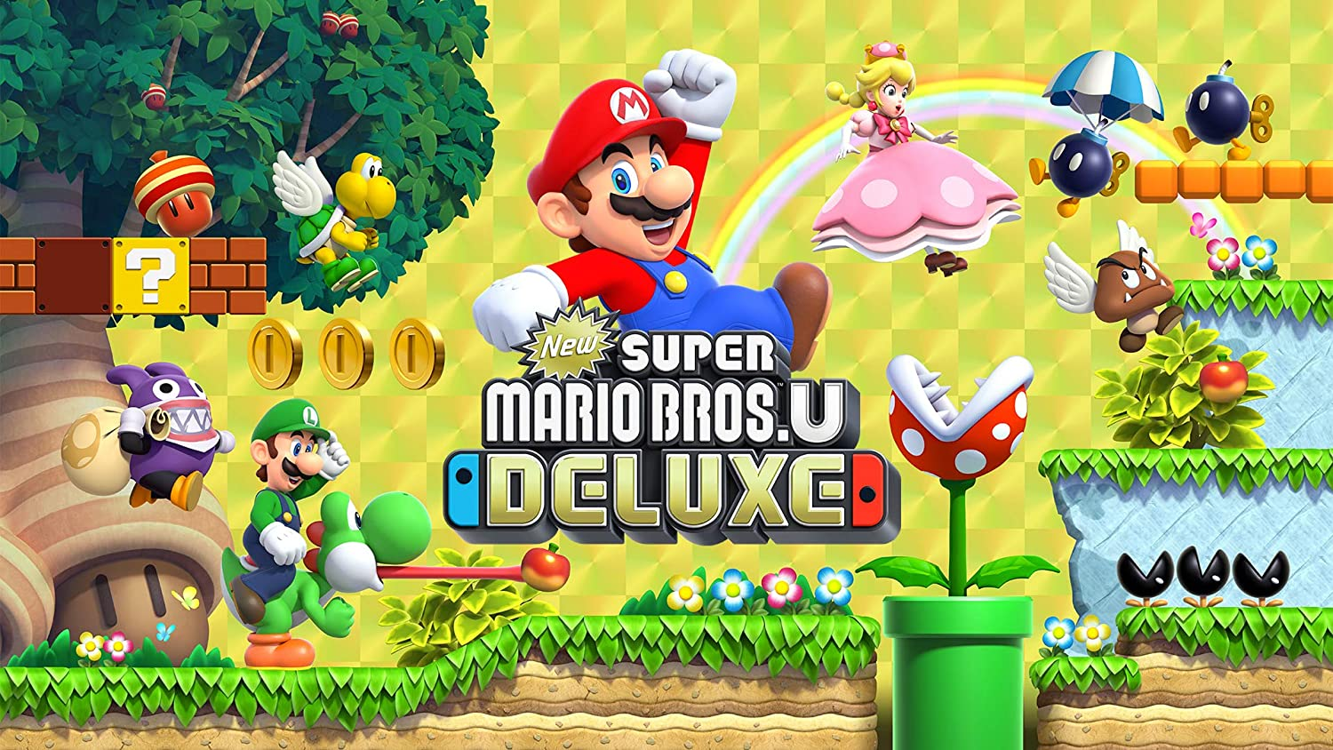 New Super Mario Bros U Deluxe [Nintendo Switch]