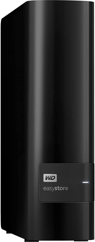 WD Easystore 8TB External USB 3.0 Hard Drive [WDBCKA0080HBK-NESN]