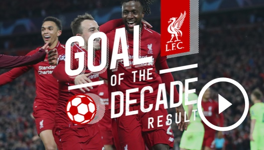 Watch: Revealed: Goal of the Decade Result