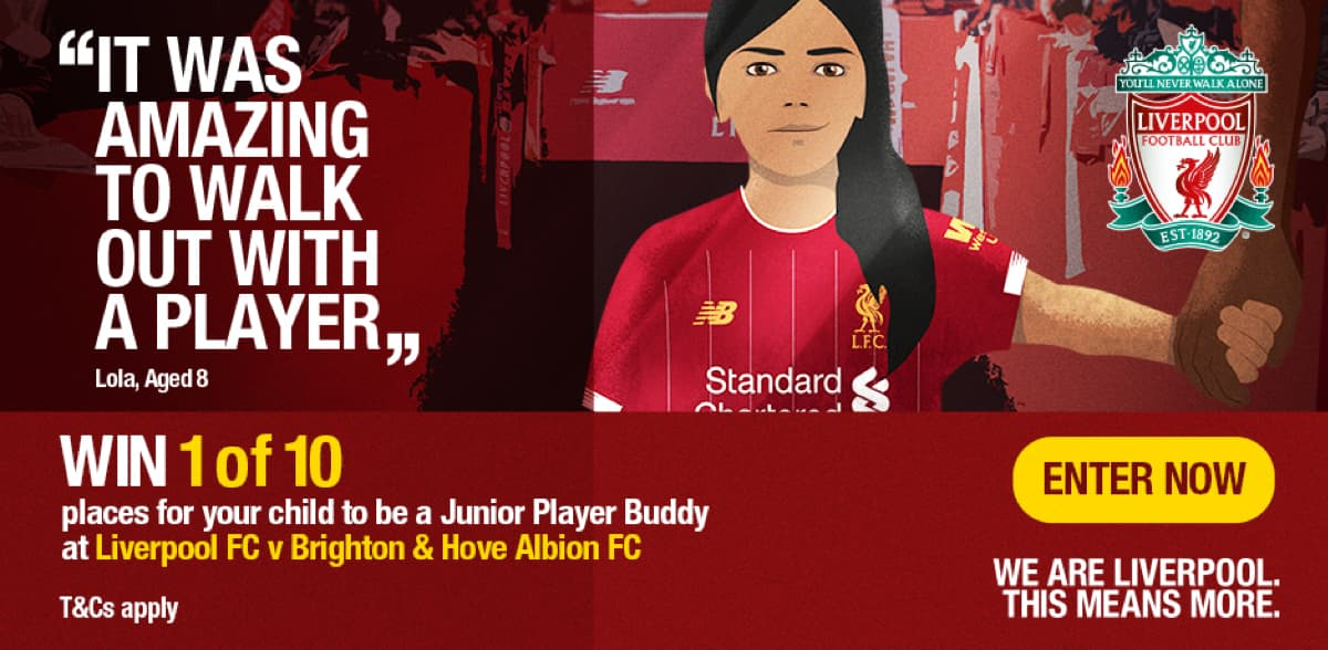 Junior Player Buddy Competition