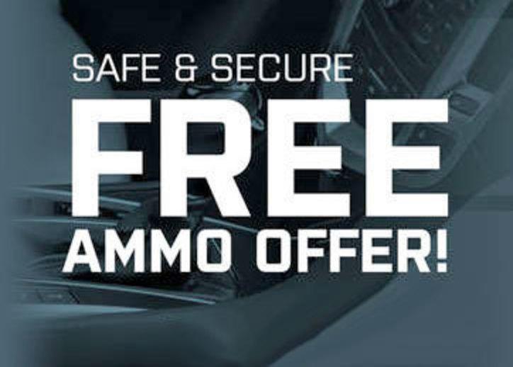 Safe & Secure Free Ammo Offer Banner