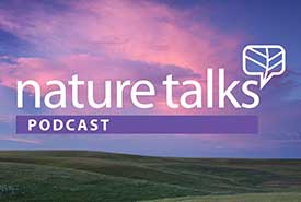 Nature talks podcast logo