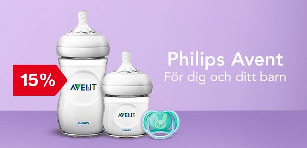 15% på Philips Avent - För dig och ditt barn