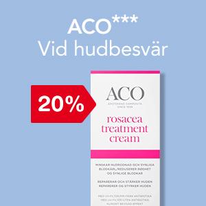 20% på ACO Treatments.