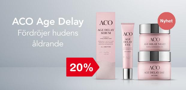 Nyhet! ACO Age Delay 20%