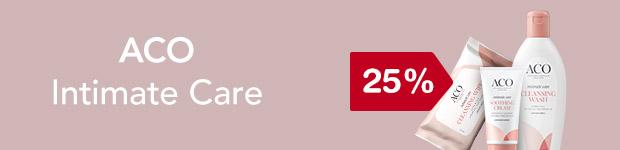 25% på ACO Intimate Care
