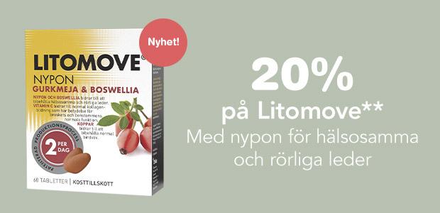 20% på Litomove