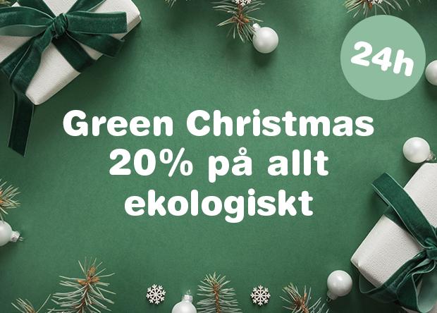 Green Christmas, 20% på allt ekologiskt!