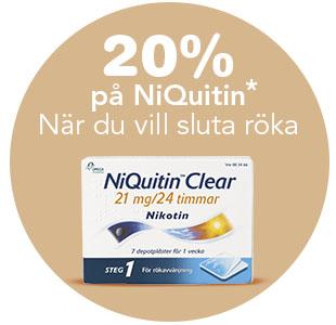 20% på NiQuitin