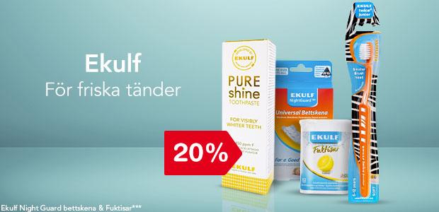 20% på Ekulf