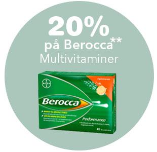 20% på Berocca