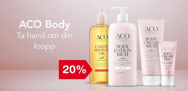 20% på ACO Body